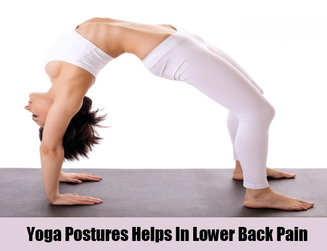 Yoga Postures Prevents Lower Back Pain