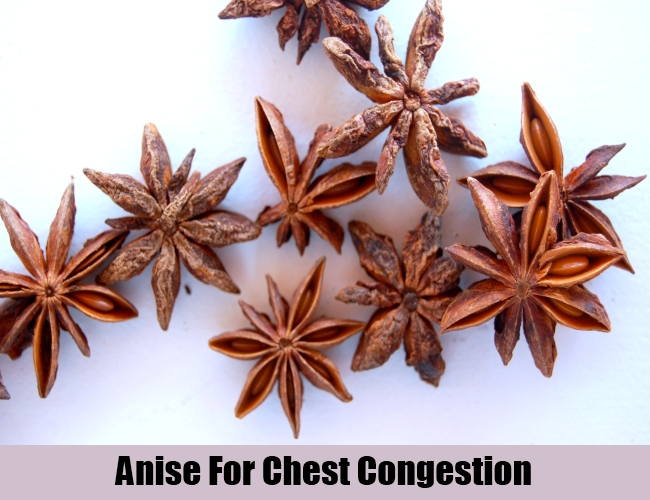Anise For Chest Congestion