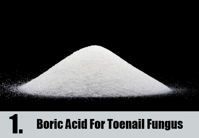 Boric Acid For Toenail Fungus
