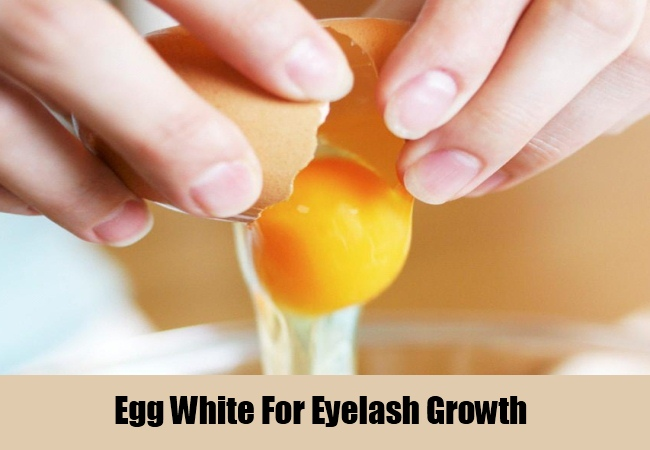 Egg White For Eyelash Growth