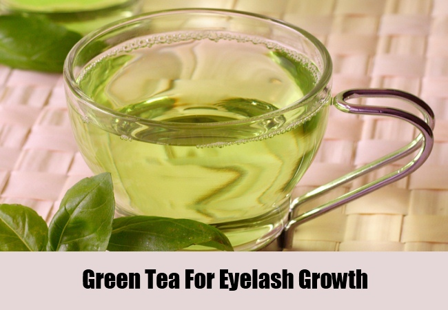 Green Tea For Eyelash Growth