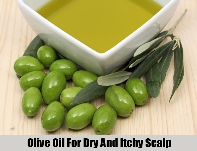 Olive Oil For Dry And Itchy Scalp