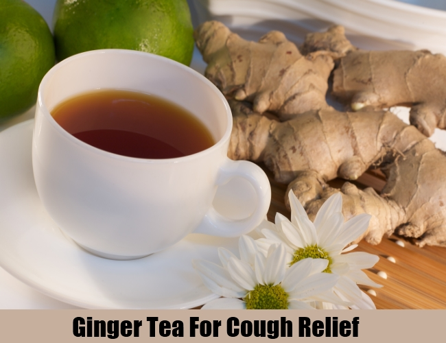 Ginger Tea For Cough Relief