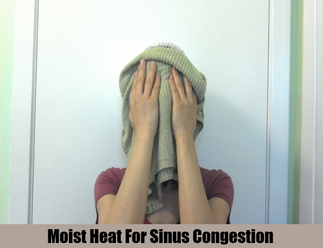 Moist Heat For Sinus Congestion