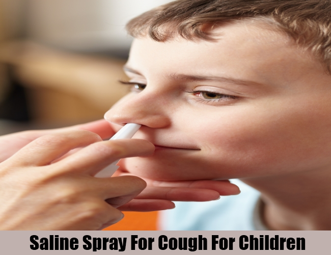 Saline Spray For Cough For Children