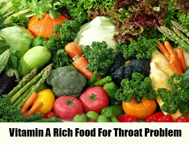 Vitamin A Rich Food For Throat Cancer Patients
