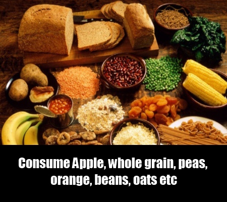 Fiber Rich Food and Fruits