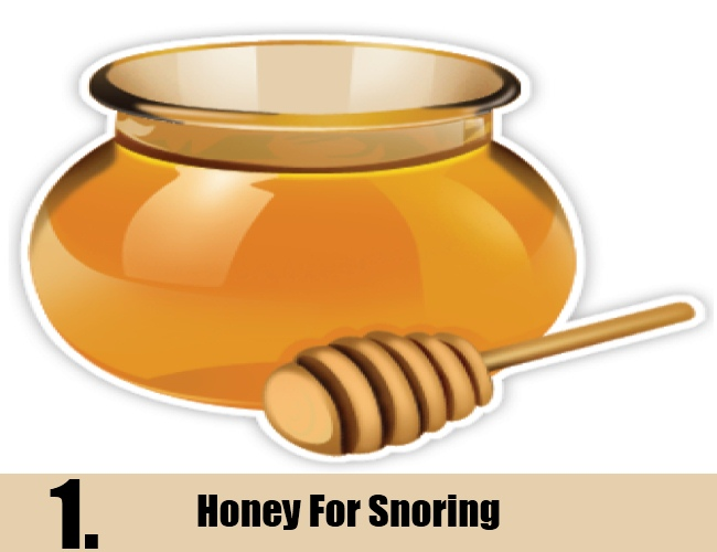 Honey For Snoring