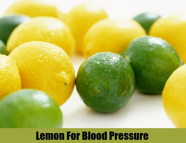 Lemon For Blood Pressure