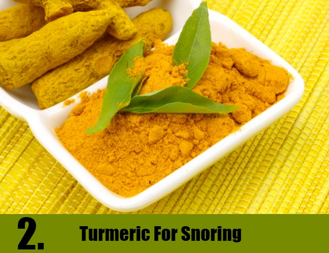 Turmeric For Snoring