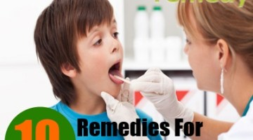 10 Home Remedies For Sore Throat Of  Kids