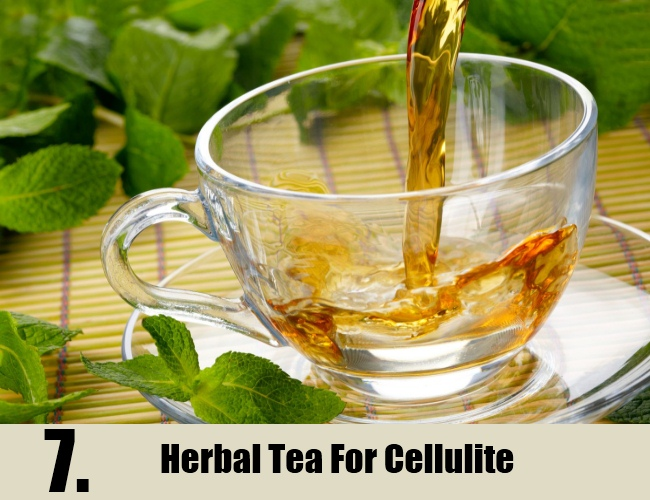 Herbal Tea For Cellulite
