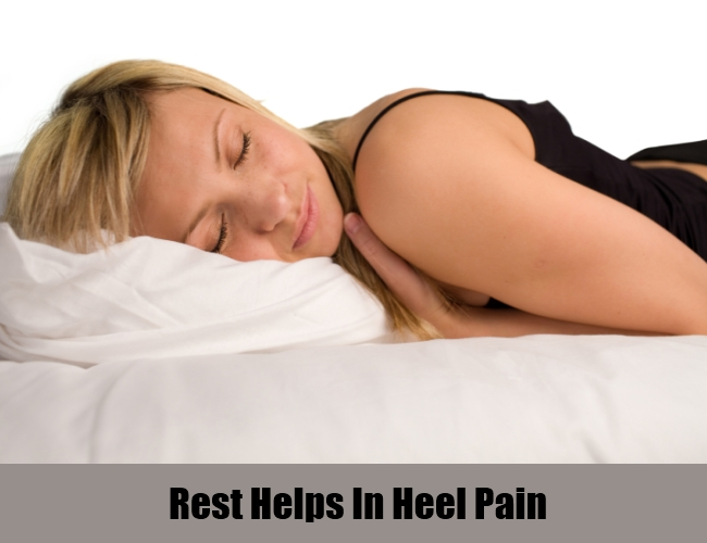 Rest Helps In Heel Pain