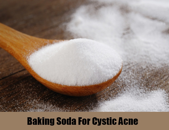 Baking Soda For Cystic Acne