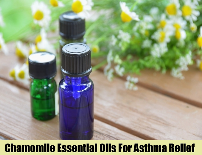 Chamomile Essential Oils For Asthma Relief