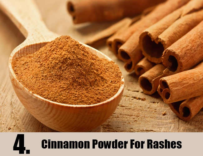 Cinnamon Powder For Rashes