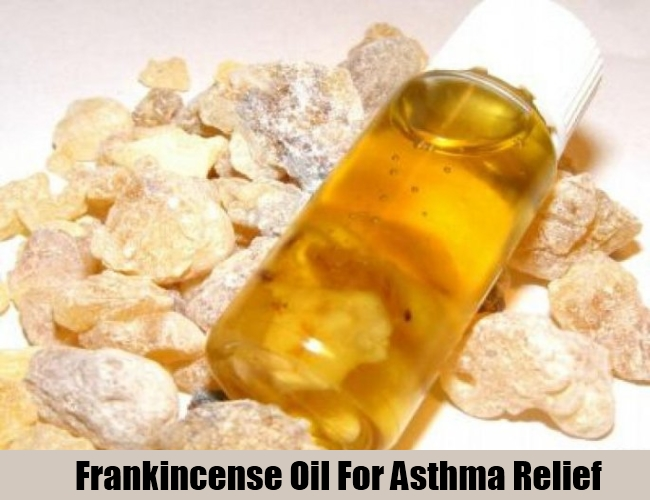 Frankincense Oil For Asthma Relief