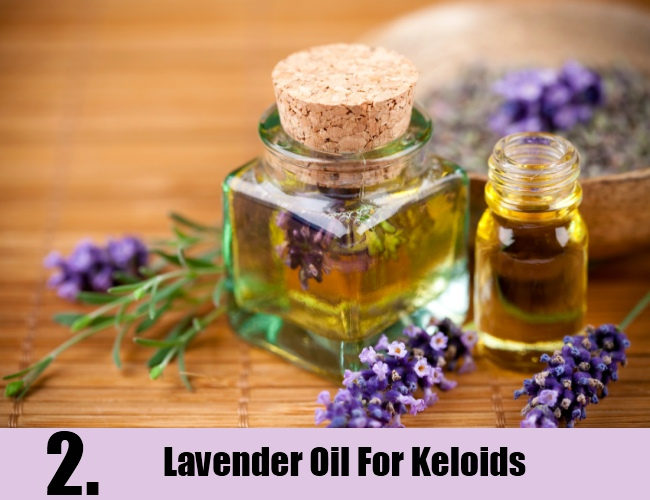 Lavender Oil For Keloids