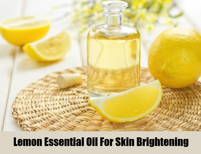 Lemon Essential Oil For Skin Brightening