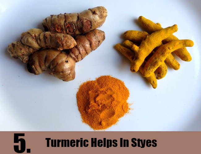 Turmeric Helps In Styes