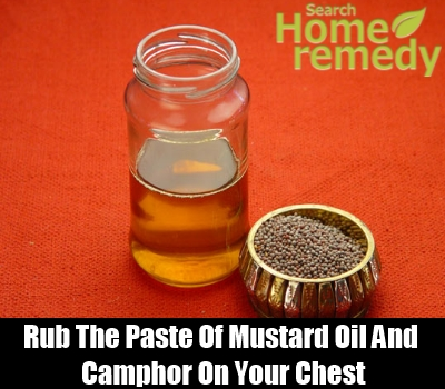 mustard oil and camphor