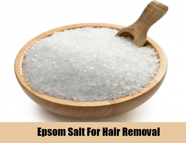 Epsom Salt For Hair Removal