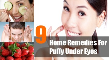 Home Remedies For Puffy Under Eyes