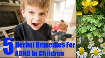 Herbal Remedies For ADHD In Children