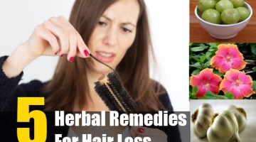 Herbal Remedies For Hair Loss