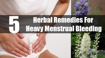 Herbal Remedies For Heavy Menstrual Bleeding