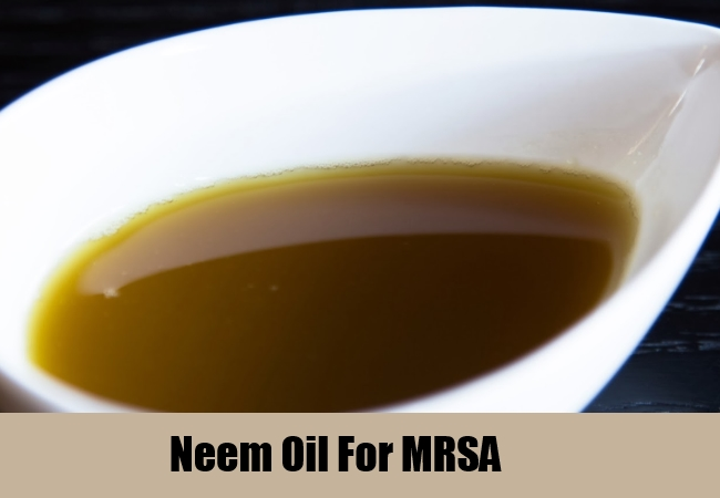 Neem Oil For MRSA