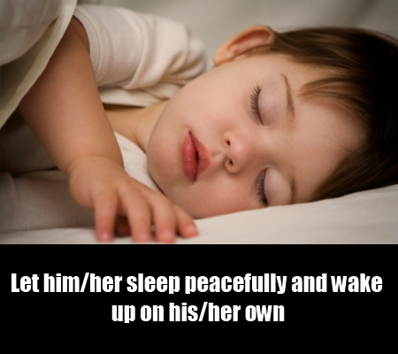 Encourage the Child to Sleep