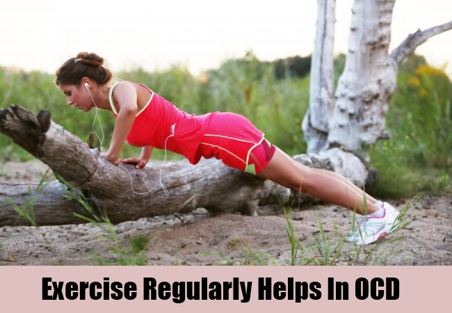 Exercise Regularly Helps In OCD