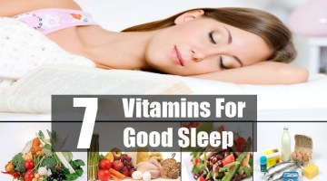 Get Good Sleep With Vitamins