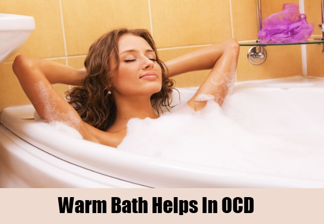 Warm Bath Helps In OCD