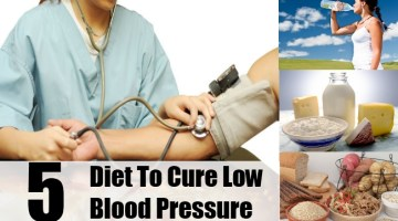 Diet To Cure Low Blood Pressure