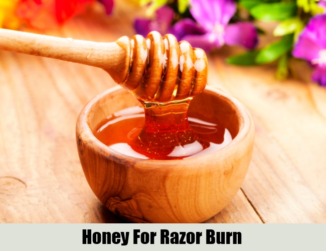 Honey For Razor Burn