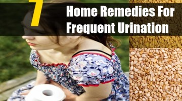 Home Remedies For Frequent Urination