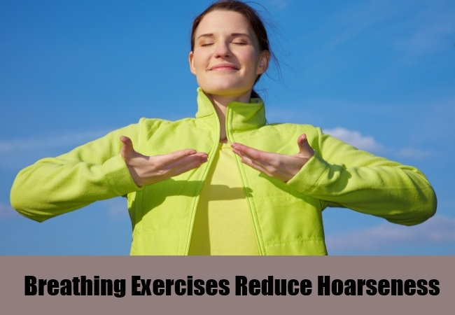 Breathing Exercises Reduce Hoarseness