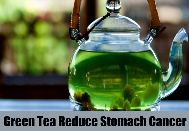 Green Tea Reduce Stomach Cancer
