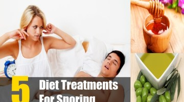 Diet Treatments For Snoring