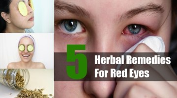 Herbal Remedies For Red Eyes