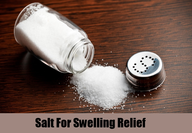Salt For Swelling Relief