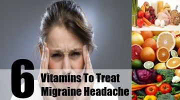 Vitamins To Treat Migraine Headache