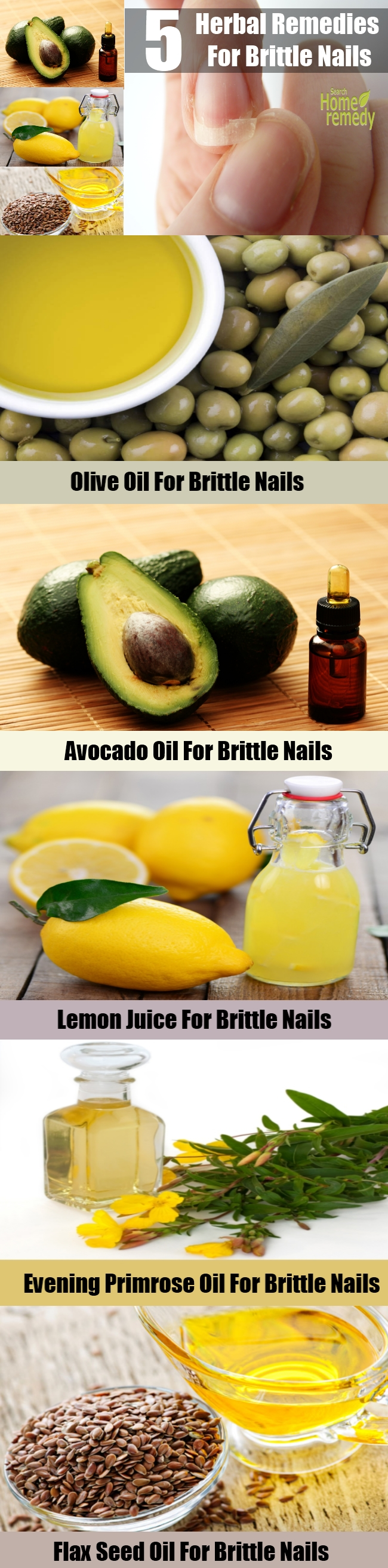 5 Herbal Remedies For Brittle Nails