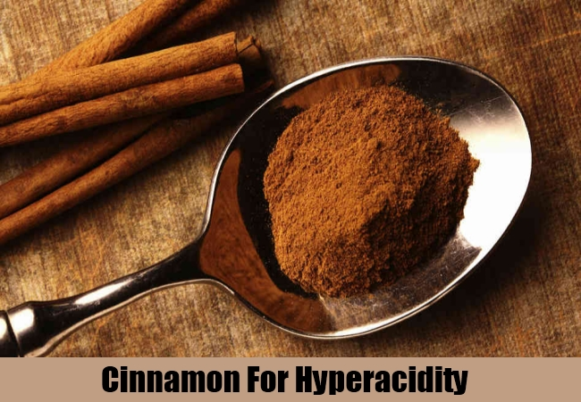 Cinnamon For Hyperacidity