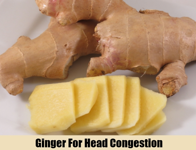 Ginger For Head Congestion