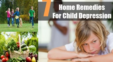 Home Remedies For Child Depression