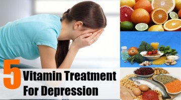 Vitamin Treatment For Depression