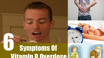 Symptoms Of Vitamin B Overdose